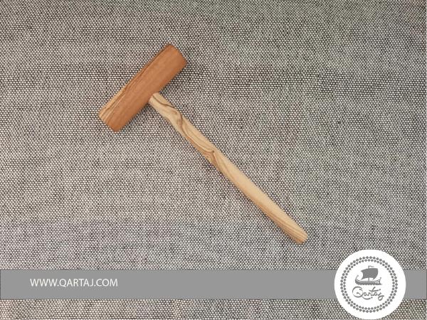 Olive Wood Small Crepe Spreader Stick  18 cm - 7.08