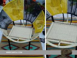 qartaj-handmade-handcrafted-hoop-chair-seat-halfa-grass-vegetal-fiber-handwoven-qartaj-decor-beige-yellow-black