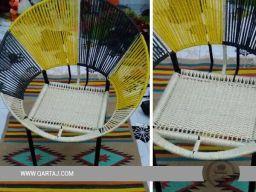 qartaj-handmade-handcrafted-hoop-chair-seat-halfa-grass-vegetal-fiber-handwoven-qartaj-decor-beige-yellow-black