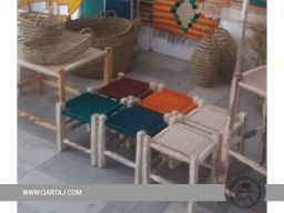 handcrafted-stool-seat-halfa-grass-vegetal-fiber-handwoven-qartaj-decor