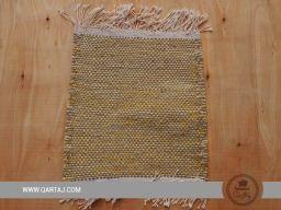 Brown and Yellow sample of Kesra carpet