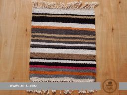 Handwoven striped Kesra sample