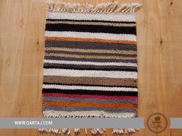 Handwoven striped Kesra sample