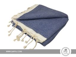 wholesale-tunisian-cotton-fouta-towels-bath-beach-turkish-hammam-striped-beachwear-blanket-blue-white