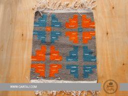 A small carpet with Berber motifs, Tunisian Artisans