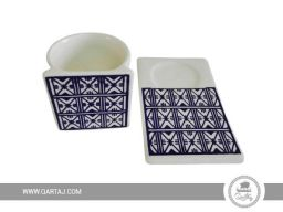 white-ceramic-white-blue-made-in-tunisia-zagden-kholkhal-collection-faiences-handmade-in-tunisia-fair-trade