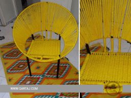 qartaj-handmade-handcrafted-hoop-chair-seat-halfa-grass-vegetal-fiber-handwoven-qartaj-decor-yellow