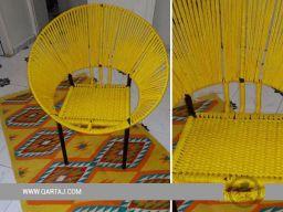 qartaj-handmade-handcrafted-hoop-chair-seat-halfa-grass-vegetal-fiber-handwoven-qartaj-decor-yellow