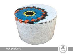 Cylindric ceramic box