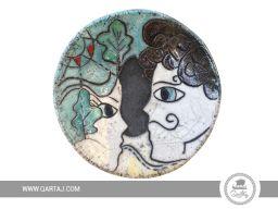 Ceramic lovers plate