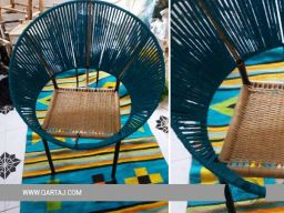 handcrafted-hoop-chair-seat-halfa-grass-vegetal-fiber-handwoven-qartaj-decor-light-brown-blue