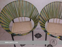 multi-colored-handcrafted-hoop-chair-seat-halfa-grass-vegetal-fiber-handwoven-qartaj-decor-light-brown-blue-green