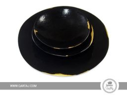 Black-gold-Bowl-Plate