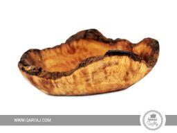 Qartaj bowl Olive wood handmade Tunisia