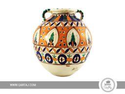 Qartaj-Jar-Belle-lune-Art-handmade-decorated-Nabeul