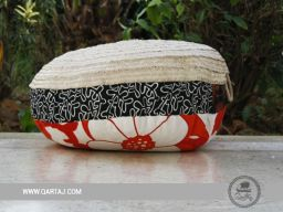 qartaj-Large-POOF-Né-a-Tunis-Douret-El-Hsira-Halfa-Cotton