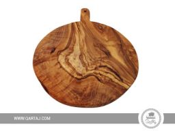 olive wood round board