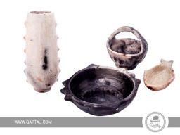 qartaj-set-of-sejnan-pottery-deep-bowl-small-basket-vase-fishbowl
