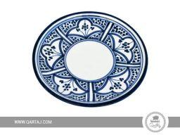 qartaj_Ceramic_Plate_bluepattern