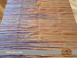 striped-pattern-wholesale-tunisian-colorful-white-yellow-blue--orange-rug-kilim-geometric-shapes-waves-lines