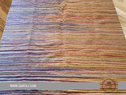 striped-pattern-wholesale-tunisian-colorful-white-yellow-blue--orange-rug-kilim-geometric-shapes-waves-lines