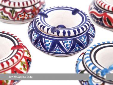 Ashtray Jilani Ceramics collection Handmade pottery form Tunisia