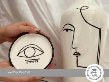 Ceramic product, eye romance bowl