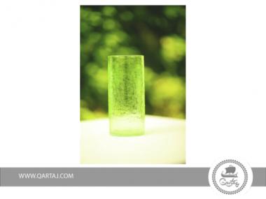 Crackled Glass Zitoun Artisanal Handmade In Tunisia