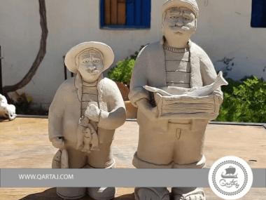 El Houch, décoration Fish Men products Ceramics handmade