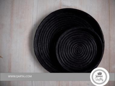 Alfa / Halfa Baskets Handmade Natural, Black made in Kassrine