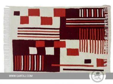 Geometric Kilim rug, Traditional, berber, fair trade