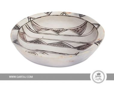Large bowl of Sajnen - Tunisian handicrafts