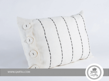 Pillows Covers 100% linen handwoven, ceramics and embroidery