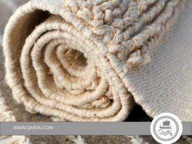 Rug grey handmade Tunisia