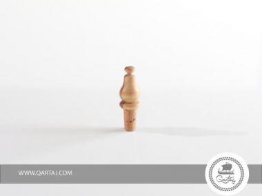 olive wood bottle stopper