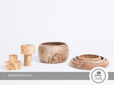 Bowl olive wood Handmade in Tunisia