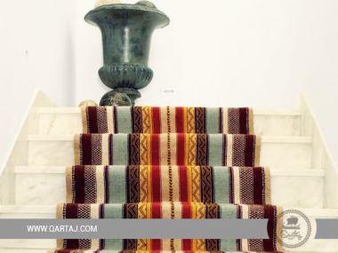 Runner Berber Rug, multicolor carpet artisans Beni Khadache, Medenine Margoum