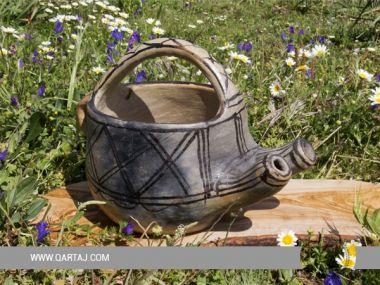 Sejnan clay waterning pot, garden Berber Pottery