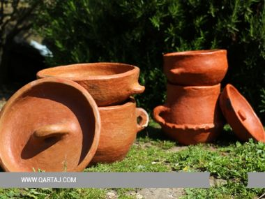 Sejnan Traditional Couscous cooker (Keskes) Tunisian handicrafts
