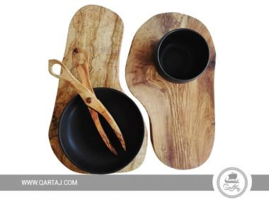 Olive Wood Pair Of Cutting Boards