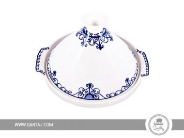 Wrought Iron / Fer Forgé Tajine blue and white collection