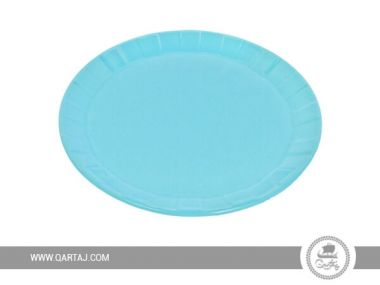 Blue sky ceramic Large Plate, tablewares made in Tunisia