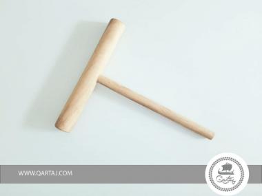 Olive Wood Large Crepe Spreader Stick