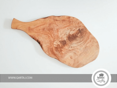 Olive Wood Cutting Cheese Board Natural Shape with Handle