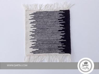 Sample Rug Kilim Abstract Black White