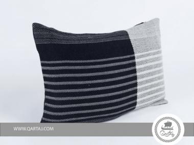 Rectangular Pillows covers hand-woven silk & wool