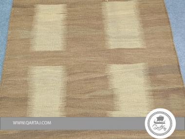 Brown Halfa Rug with Pattern