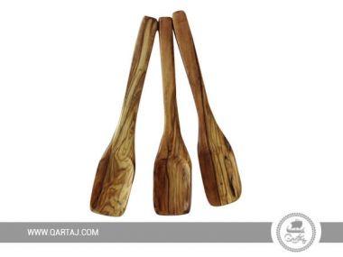 "Olive Wood Flat Spoon 20 cm / 7.8"""