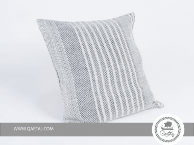 Square Pillows covers hand-woven silk & wool