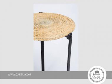 Table Metal and Halfa made in Tunisia